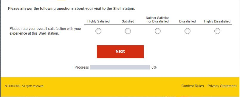 shell feedback form