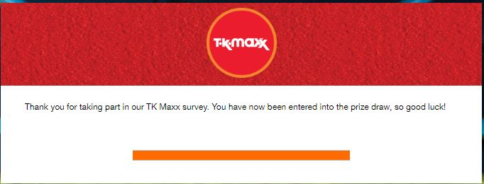 tkmaxxcare.ie - TK Maxx Ireland Customer Satisfaction Survey