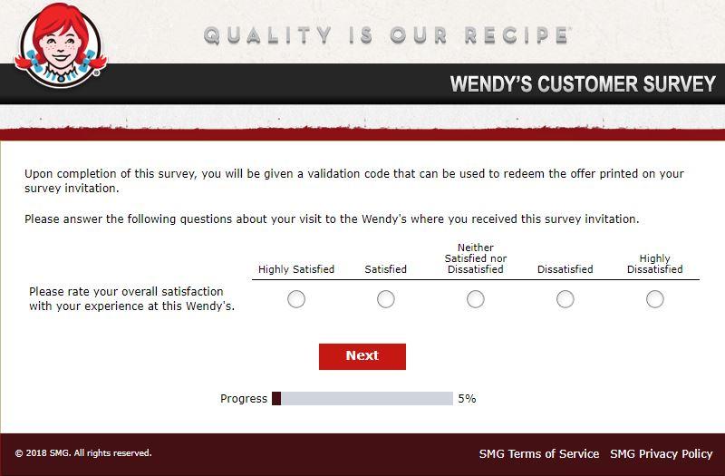 wendy's customer service