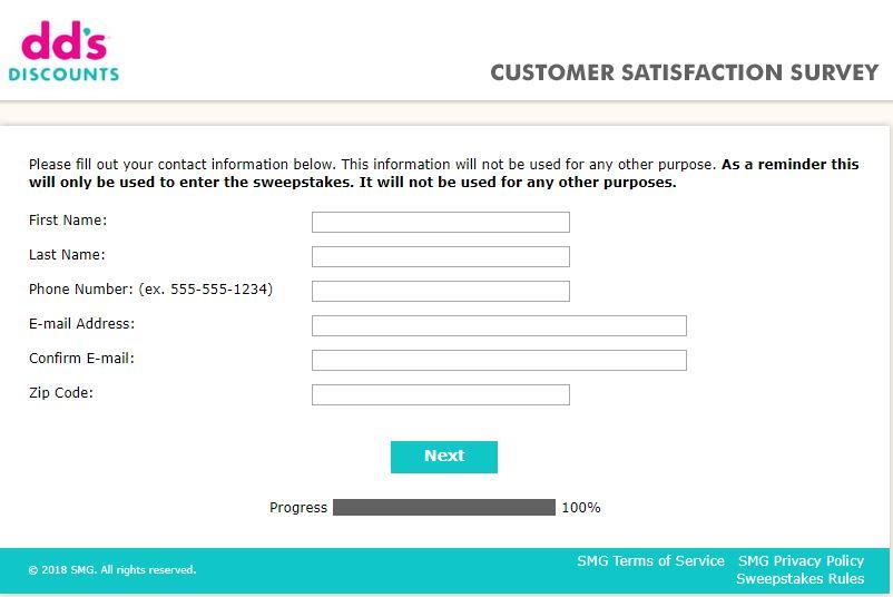 dd's discount customer service