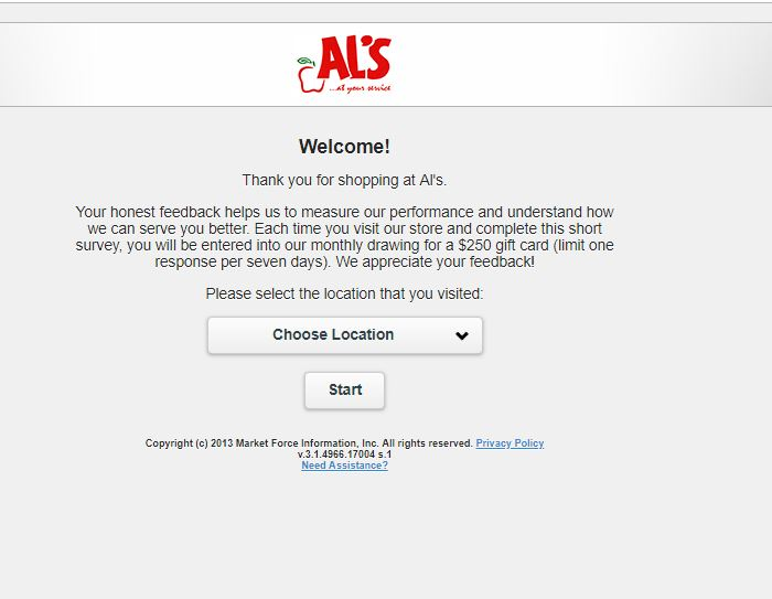 als survey