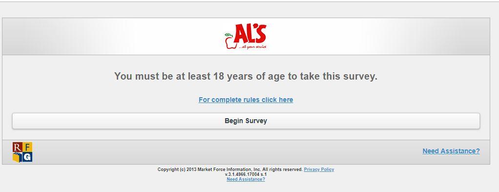 Al's Online Survey