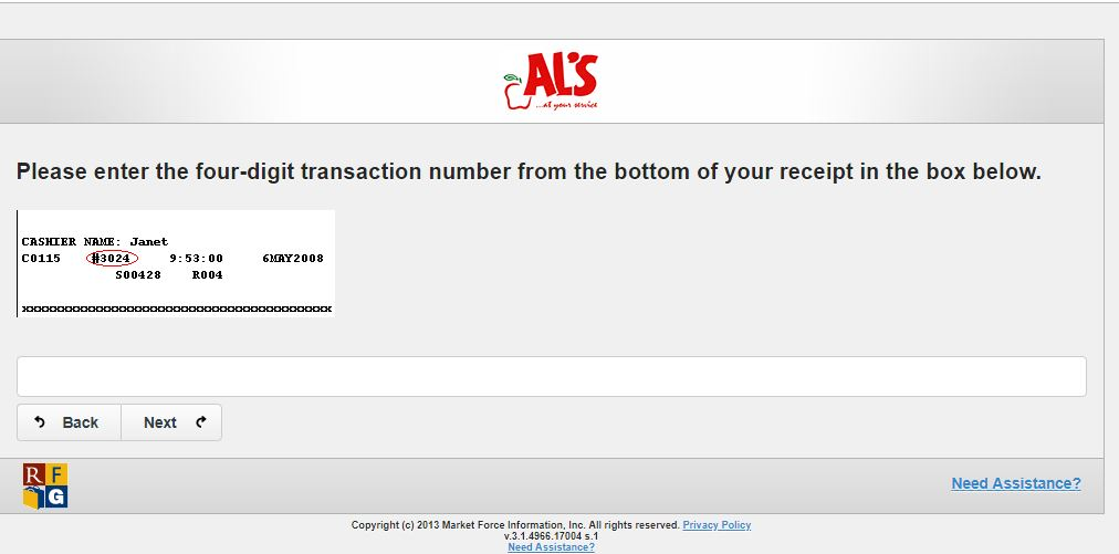 AL's Customer Feedback Survey: Win $250 Gift Card Monthly ...