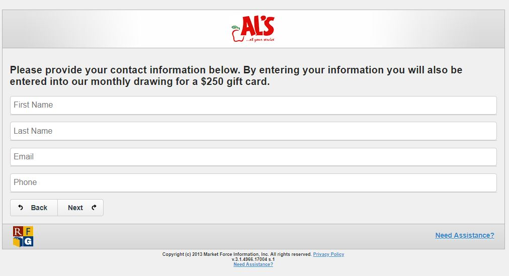 Survey - ALS Night at the Ballpark order form - The ALS Association ...