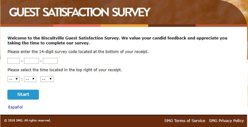biscuitville customer satisfaction survey