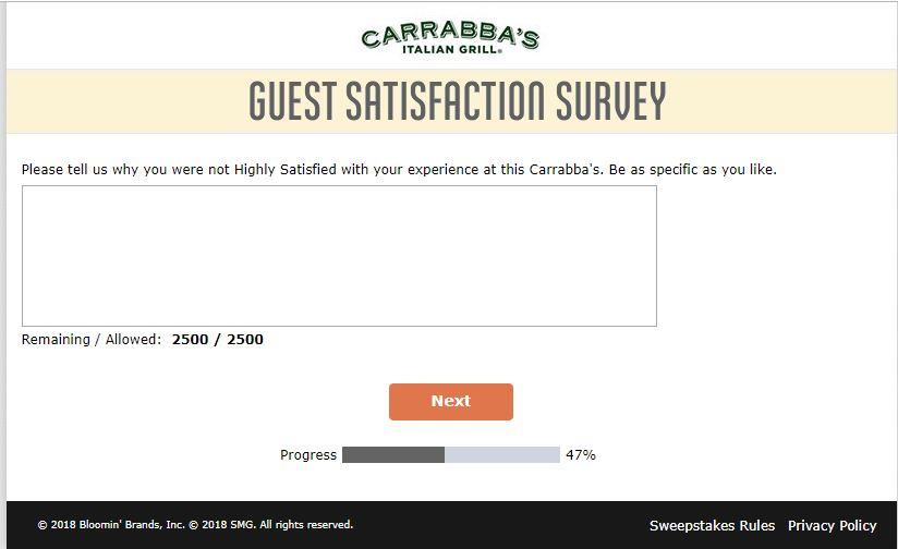 Tell Carrabba's