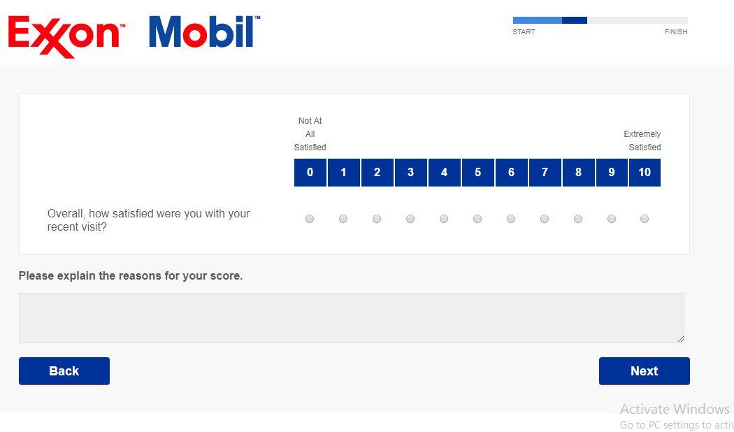 ExxonMobil Customer $500 Gift Card Survey Sweepstakes - Surveylo