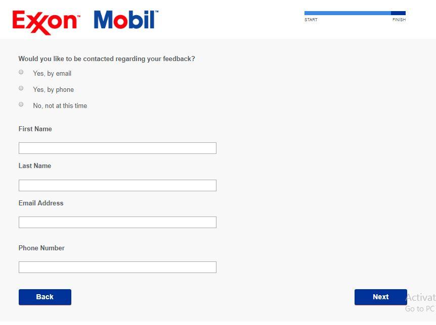 ExxonMobil Customer Satisfaction Survey, www.myexxonmobilvisit ...