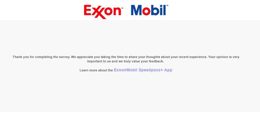 ExxonMobil Consumer Satisfaction Survey   www.MyExxonmobilvisit ...