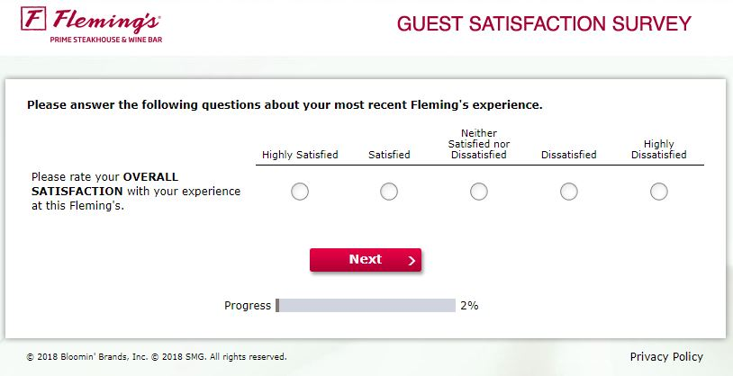www.flemingslistens.com - Fleming's Guest Satisfaction Survey