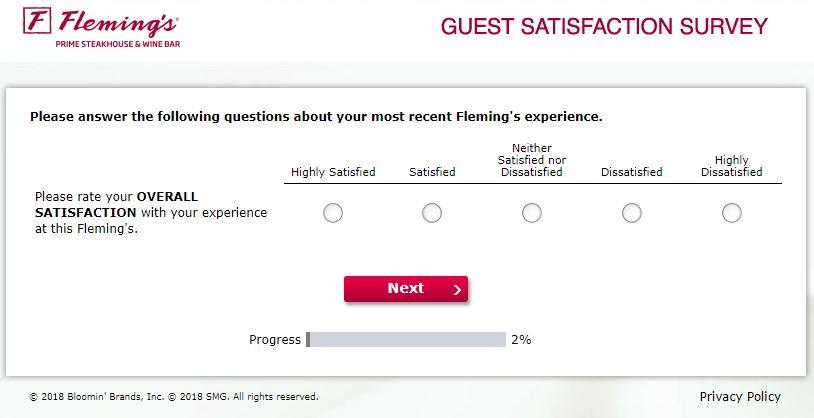 www.flemingslistens.com - Fleming's Guest Satisfaction Survey