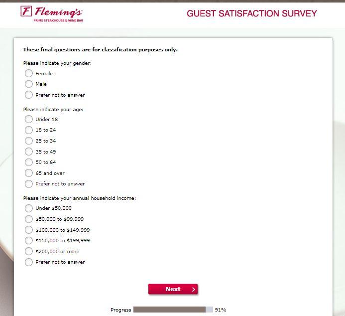 Participate In Fleming's Guest Satisfaction Survey - Nigerian Institute ...