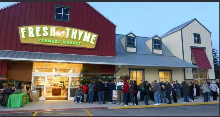 Fresh Thyme Farmers Market Customer Survey