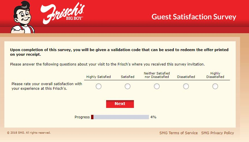 frisch's big boy survey