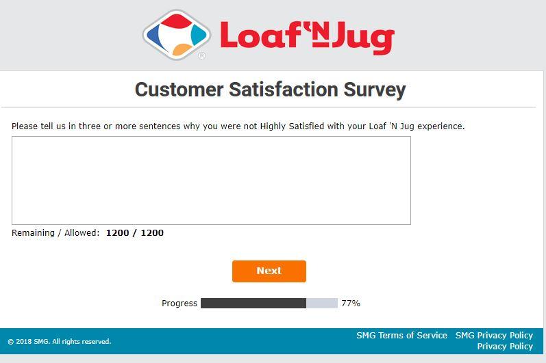 loaf n jug survey