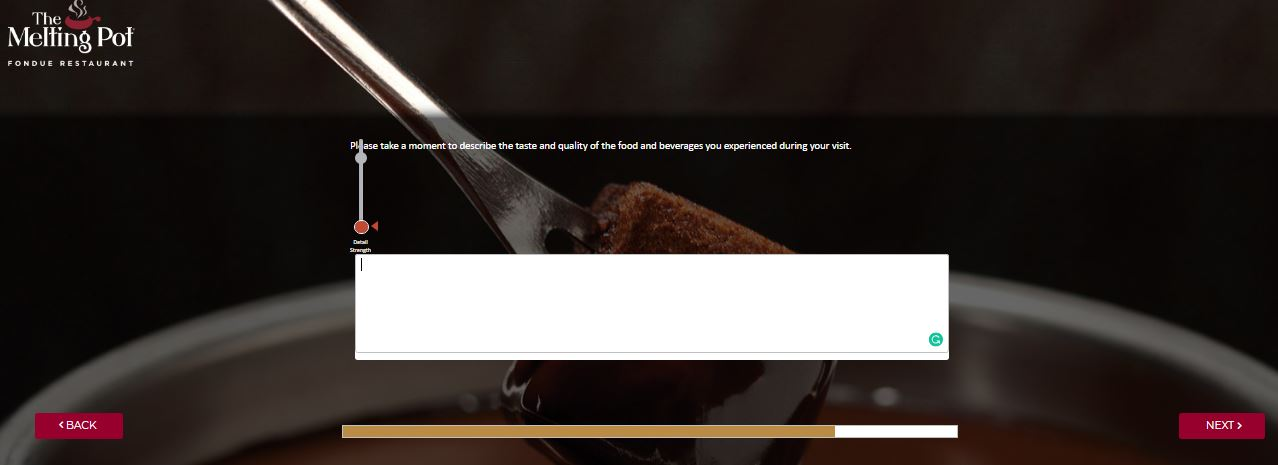 Melting Pot Guest Satisfaction Survey -