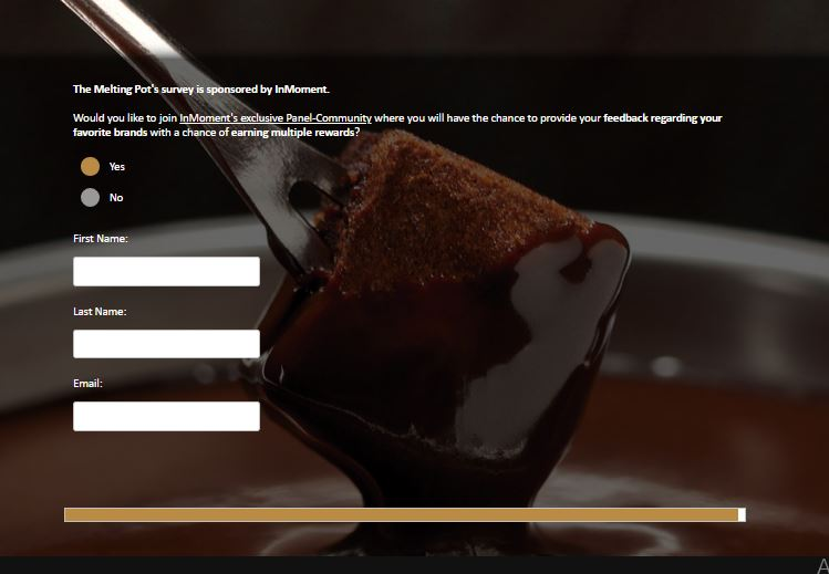 Melting Pot Fondue Survey - Customer Satisfaction Survey