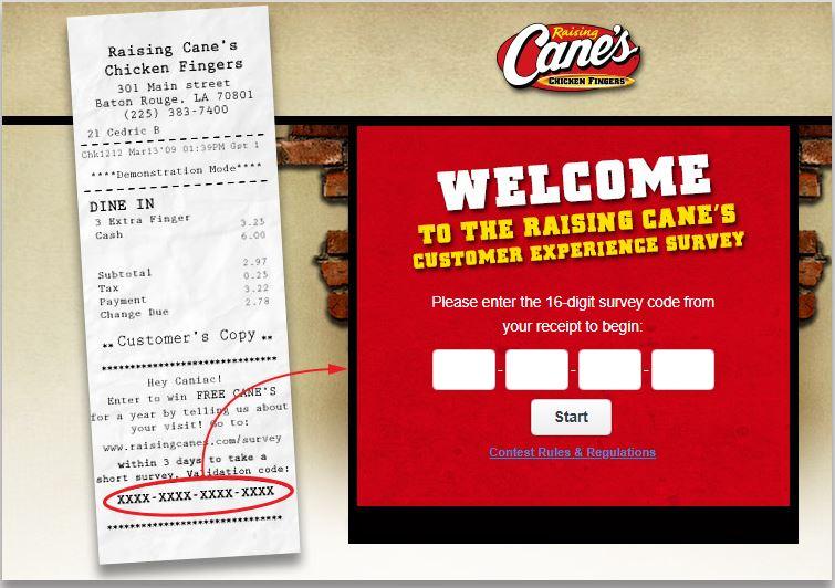 raising cane's customer service