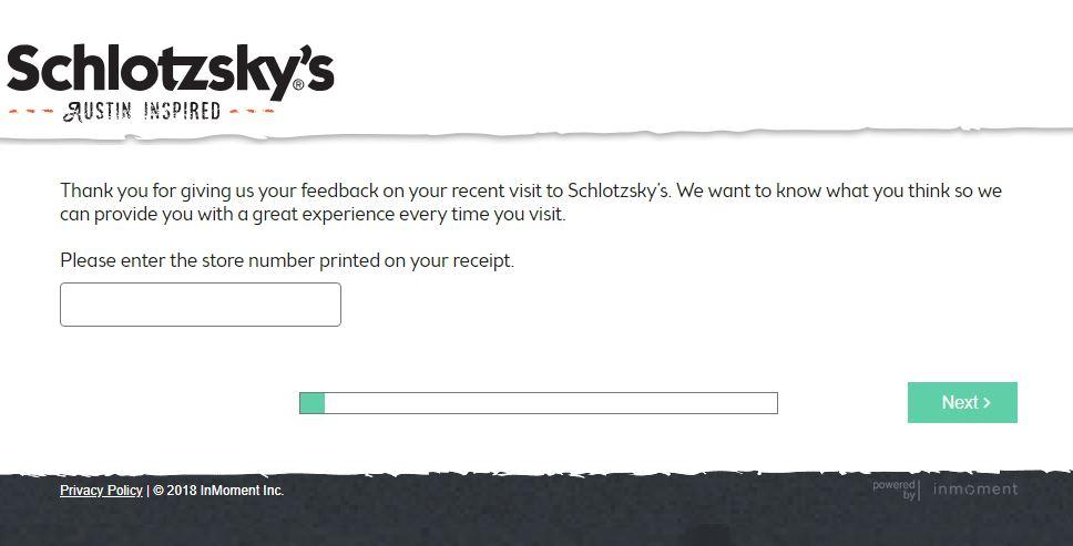 schlotzsky's customer service
