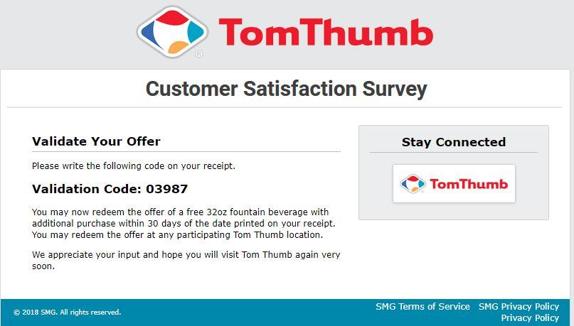 tom thumb login