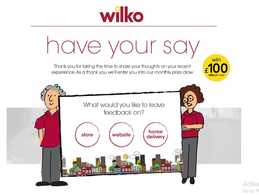 wilko customer feedback