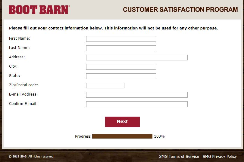 boot barn login