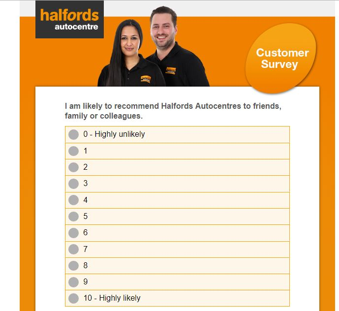 halfords car sales