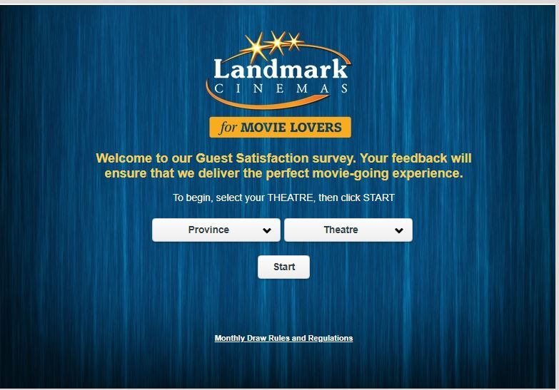 Landmark Cinemas Feedback
