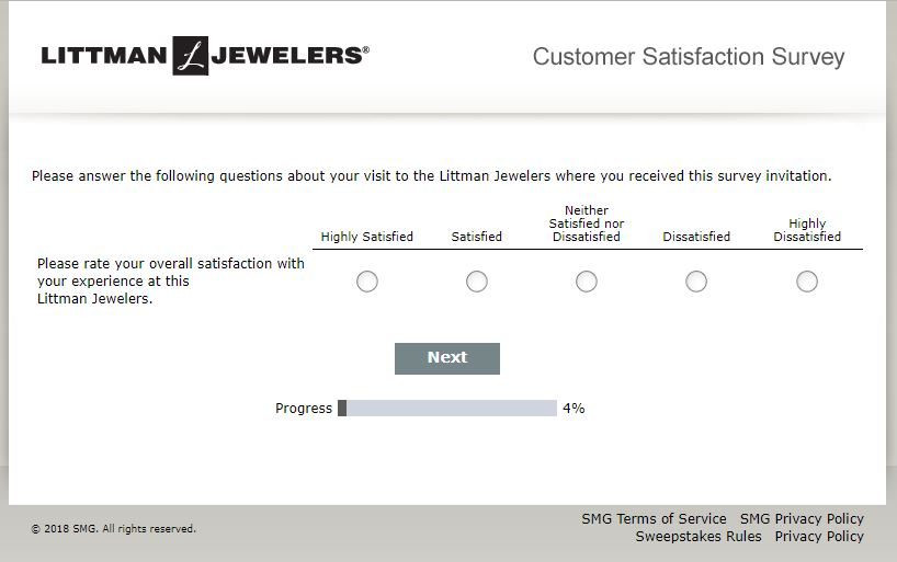 Join Littman Jewelers Customer Satisfaction Survey on E Guides ...