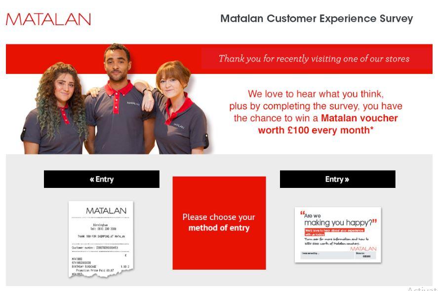 Mantalan Customer Experience Survey