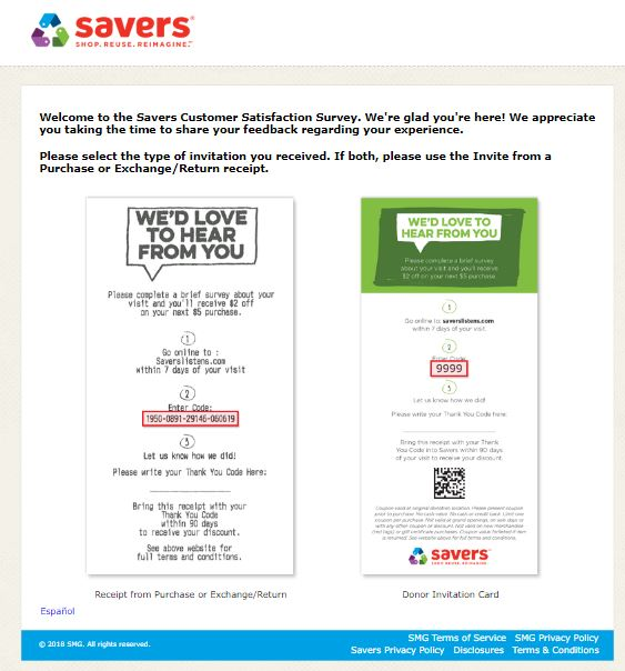 savers listens donation