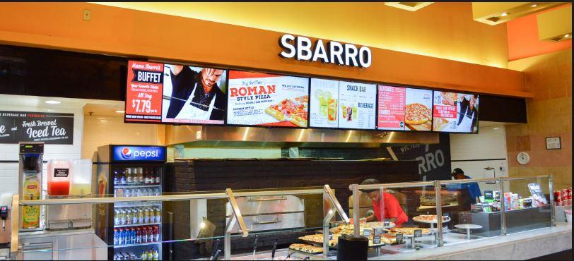 sbarro customer service