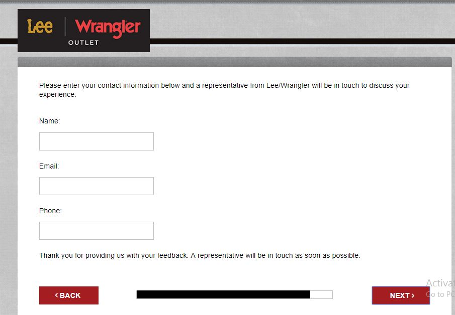 lee wrangler customer service