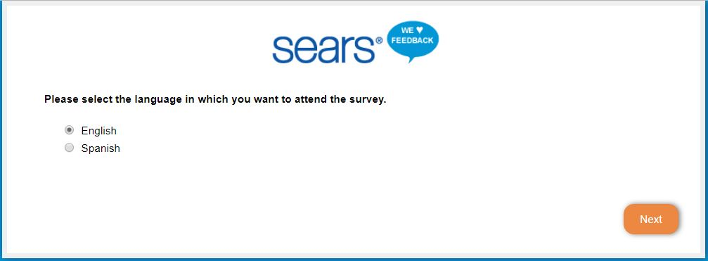 Feedback Survey Customer - Sears