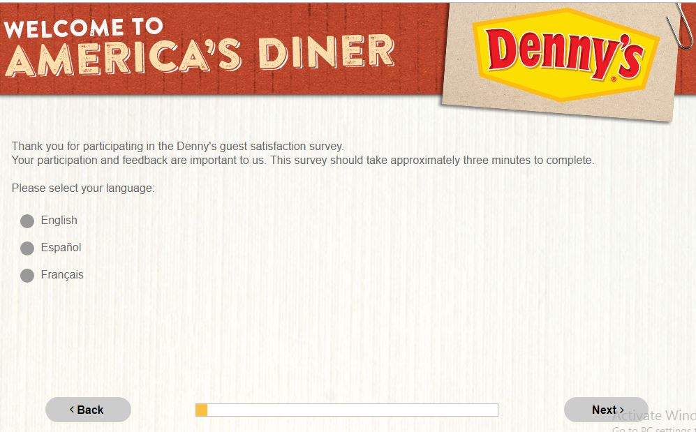 Denny's Guest Satisfaction Survey | SweepstakesBible