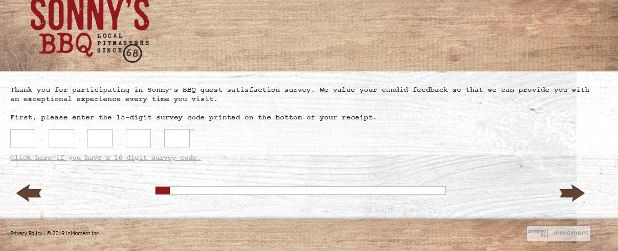 Talktosonnys: Sonny's Bar-B-Q Guest/Customer Satisfaction Survey ...