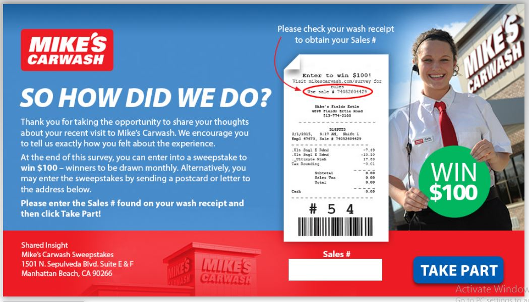 Mike's Carwash Customer Satisfaction Survey - Shared Insight
