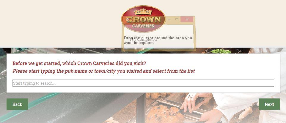crown carveries guest feedback