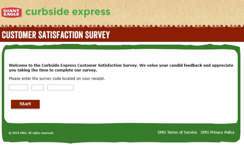 Enter Our Survey Sweepstakes | Giant Eagle