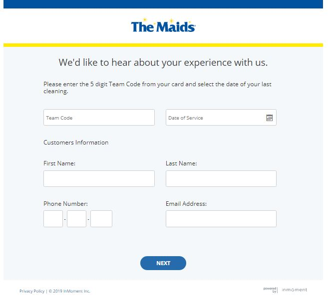 www.maids.com/feedback - MAIDS Feedback Customer Survey