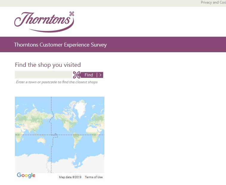 www.thorntons.co.uk/tellus Thorntons Customer Experience Survey ...