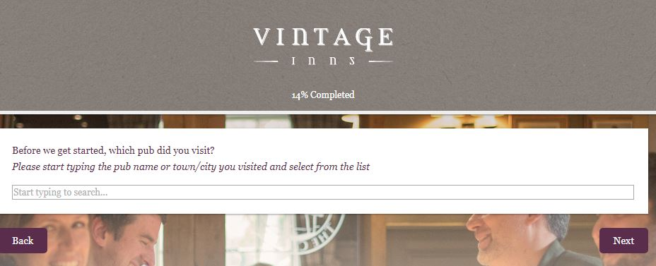 Vintage Inns Survey Sweepstakes: Win Free Voucher ...