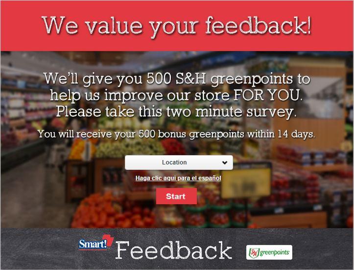 Freshtown Customer Feedback Survey