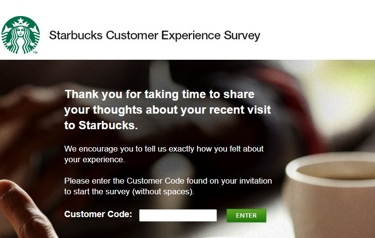 Customer Experience Survey - Answers | Starbucks Coffee Company