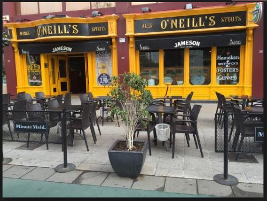 O'Neill's Guest Satisfaction Survey