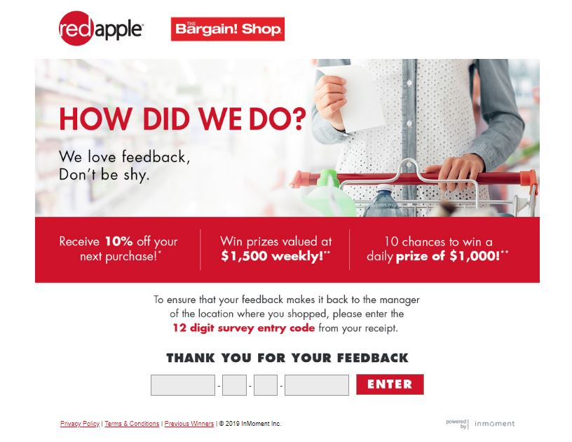 The Bargain! Shop Customers Satisfaction Survey