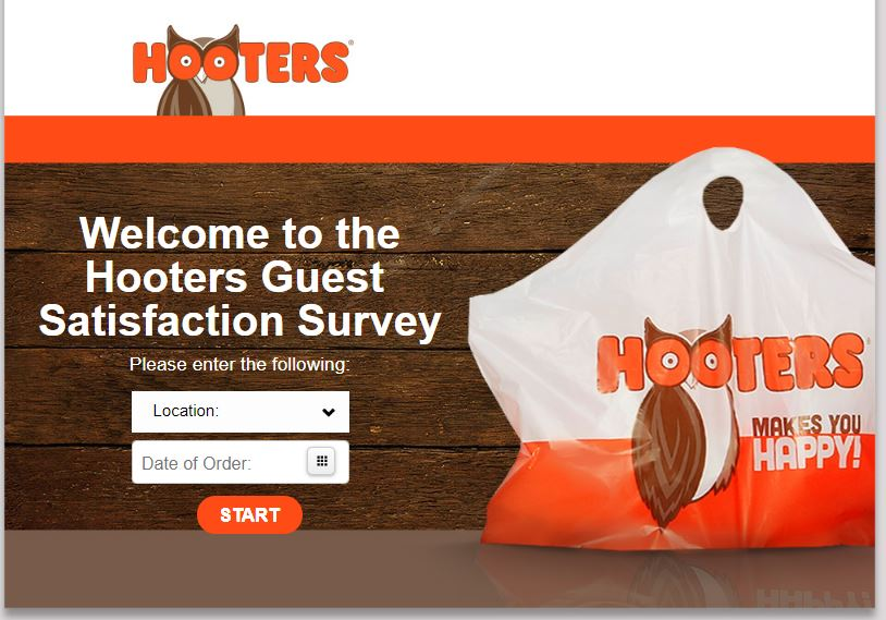 Hooters Guest Satisfaction Survey