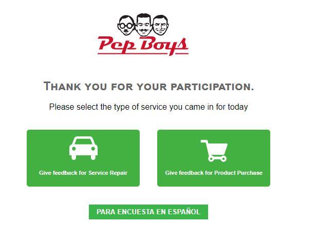 www.pepboyssurvey.com | Pep Boy's Win $5000 Sweepstakes Survey ...