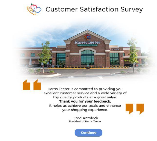 Harris Teeter Survey