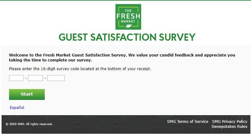 The Fresh Market Customer Survey